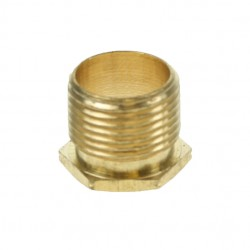 20mm Long Pattern Brass Bush
