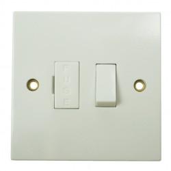 BG White PVC Fused Connection Unit