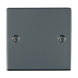 Hamilton Sheer Black Nickel Single Blank Plate