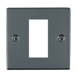 Hamilton Sheer EuroFix Plates Black Nickel Single Plate c/w 1 EuroFix Apertures + Grid
