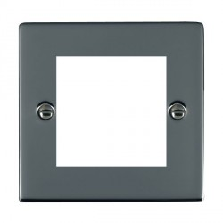 Hamilton Sheer EuroFix Plates Black Nickel Single Plate c/w 2 EuroFix Apertures + Grid