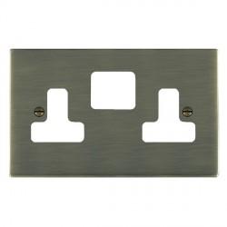 Hamilton Sheer Grid Antique Brass SS2 Grid Fix Aperture Plate
