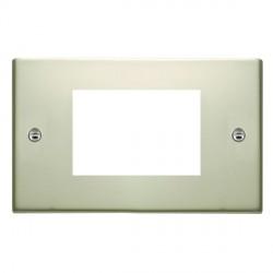 Hamilton Sheer EuroFix Plates Pearl Oyster Double Plate c/w 3 EuroFix Apertures + Grid