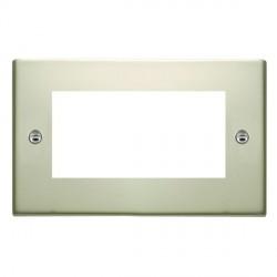 Hamilton Sheer EuroFix Plates Pearl Oyster Double Plate c/w 4 EuroFix Apertures + Grid