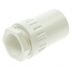 Univolt White 20mm PVC Female Adaptor