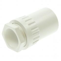 Univolt White 20mm PVC Female Adaptor