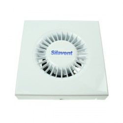 Silavent White 4inch Wall and Ceiling Extractor Fan with Timer