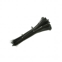 200x4.8mm Black Cable Ties