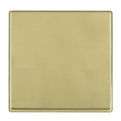 Hamilton Hartland CFX Polished Brass Single Blank Plate