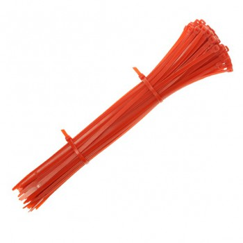 300x4.8mm Red Cable Ties