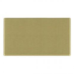 Hamilton Hartland CFX Satin Brass Double Blank Plate