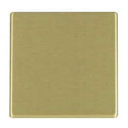 Hamilton Hartland CFX Satin Brass Single Blank Plate