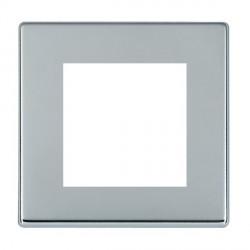 Hamilton Hartland CFX EuroFix Plates Bright Chrome Single Plate c/w 2 EuroFix Apertures + Grid