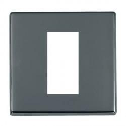 Hamilton Hartland CFX EuroFix Plates Black Nickel Single Plate c/w 1 EuroFix Apertures + Grid