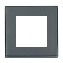 Hamilton Hartland CFX EuroFix Plates Black Nickel Single Plate c/w 2 EuroFix Apertures + Grid