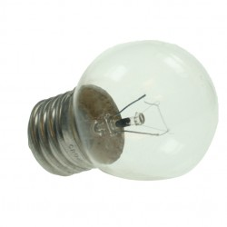 Edison Screw 240v 25watt Clear Golf Ball Lamp
