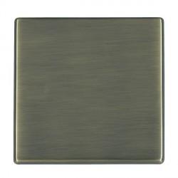 Hamilton Hartland CFX Antique Brass Single Blank Plate