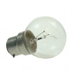Bayonet Cap 240v 40watt Clear Golf Ball Lamp