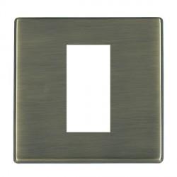 Hamilton Hartland CFX EuroFix Plates Antique Brass Single Plate c/w 1 EuroFix Apertures + Grid