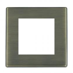 Hamilton Hartland CFX EuroFix Plates Antique Brass Single Plate c/w 2 EuroFix Apertures + Grid