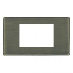 Hamilton Hartland CFX EuroFix Plates Antique Brass Double Plate c/w 3 EuroFix Apertures + Grid