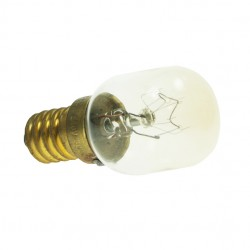 Small Edison Screw 240v 25 Watt Clear Oven Lamp