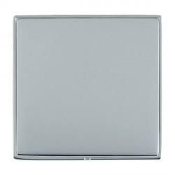 Hamilton Linea-Duo CFX Bright Chrome/Bright Steel Single Blank Plate