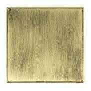 Hamilton Linea-Duo CFX Polished Brass/Antique Brass Single Blank Plate