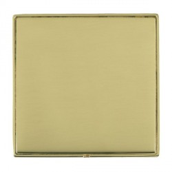 Hamilton Linea-Duo CFX Polished Brass/Polished Brass Single Blank Plate