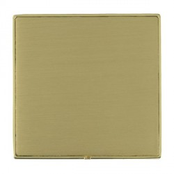 Hamilton Linea-Duo CFX Polished Brass/Satin Brass Single Blank Plate