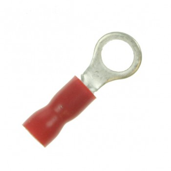 Red 5mm Ring Crimp Terminal (Pack of 100)