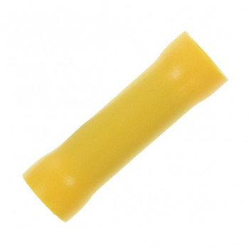 Yellow 2.63x6.64mm Through Crimp (Pack of 100)
