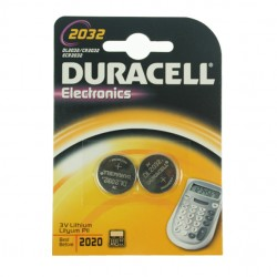 Duracell 3v Lithium Button Cell Battery