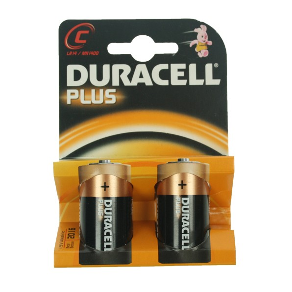 Duracell C 1.5v Batteries at UK Electrical Supplies.