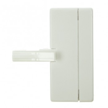 White Telephone Socket Tripler