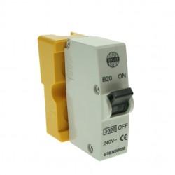 Wylex 20amp Plug-in MCB