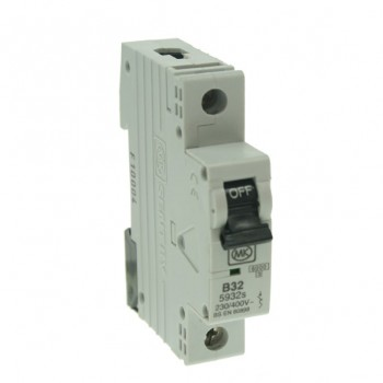 MK Electric Sentry 32A Type B Single Pole MCB