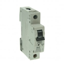 MK Electric Sentry 40A Type B Single Pole MCB