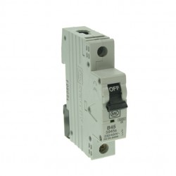 MK Electric Sentry 45A Type B Single Pole MCB