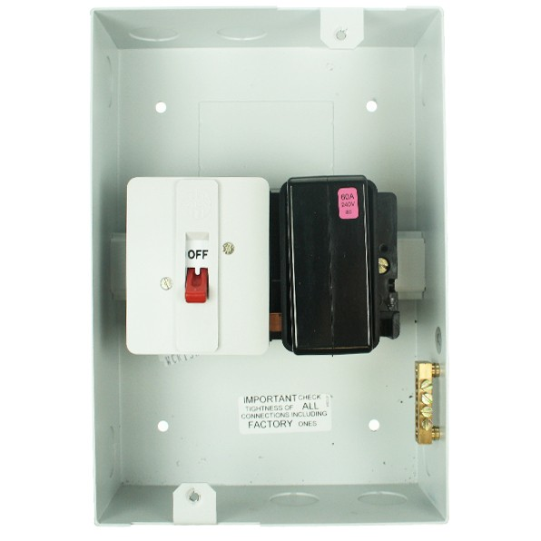 60 Amp Metal Clad Switch Fuse At Uk Electrical Supplies