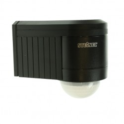 Steinel 240 Degrees Black Motion Detector