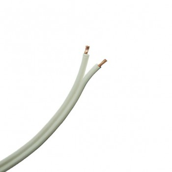 100 Metre Drum of 42 Strand White Speaker Cable