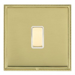 Hamilton Linea-Perlina CFX Polished Brass/Polished Brass 1 Gang Multi way Touch Master Trailing Edge with...