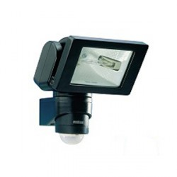 Steinel 150w Black Sensor-Swtiched Halogen Light