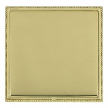 Hamilton Linea-Perlina CFX Polished Brass/Polished Brass Single Blank Plate