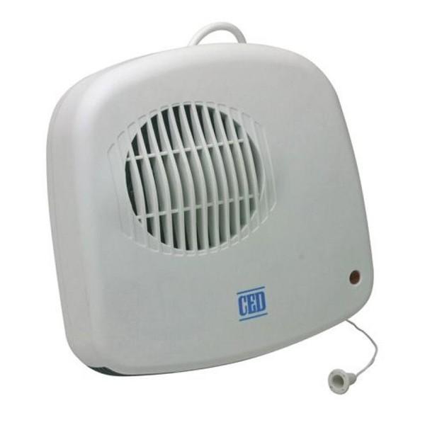 fan heater. ced down flow 2400watt bathroom fan heater