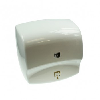 CED 2400watt White Automatic Hand Dryer