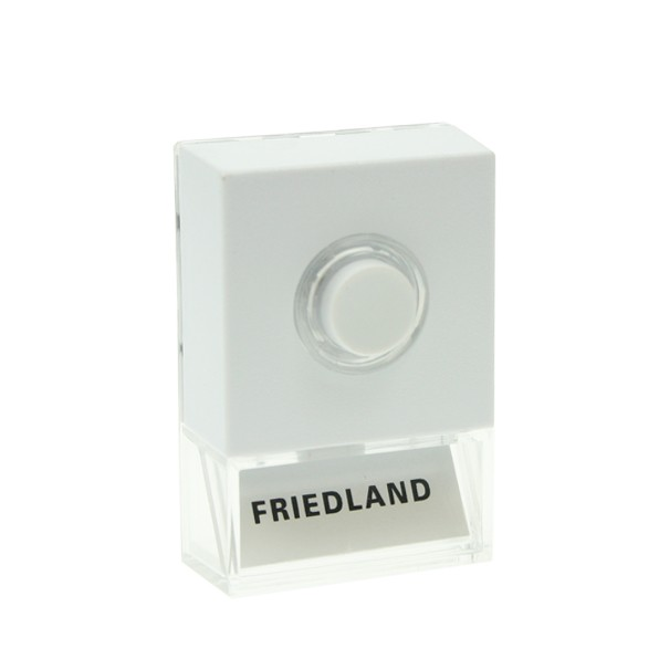 Friedland illuminated door bell push at uk electrical for Door bell push