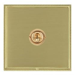 Hamilton Linea-Perlina CFX Polished Brass/Satin Brass 1 Gang Intermediate Dolly with Polished Brass Insert
