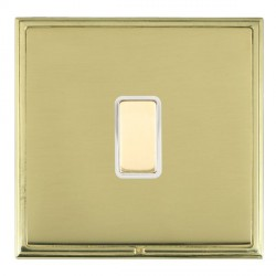 Hamilton Linea-Scala CFX Polished Brass/Polished Brass 1 Gang Multi way Touch Master Trailing Edge with W...